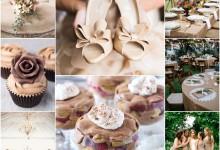 Un mariage couleur «café frappé», quelle belle idée !