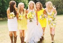 9 idées pour colorer un mariage d'été d'un jaune gorgé de soleil