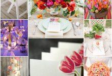 On dit oui à la tulipe pour une décoration de mariage printanier