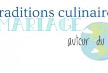 Tour du monde des traditions culinaires de mariage en une seule  et belle infographie !
