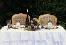 10 centres de table pour célébrer un mariage sur la route des vins