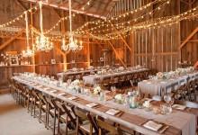 6 astuces pour donner du cachet à la salle de réception de son mariage