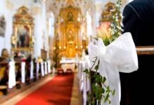 8 choses à savoir quand on décore son lieu de culte pour un mariage