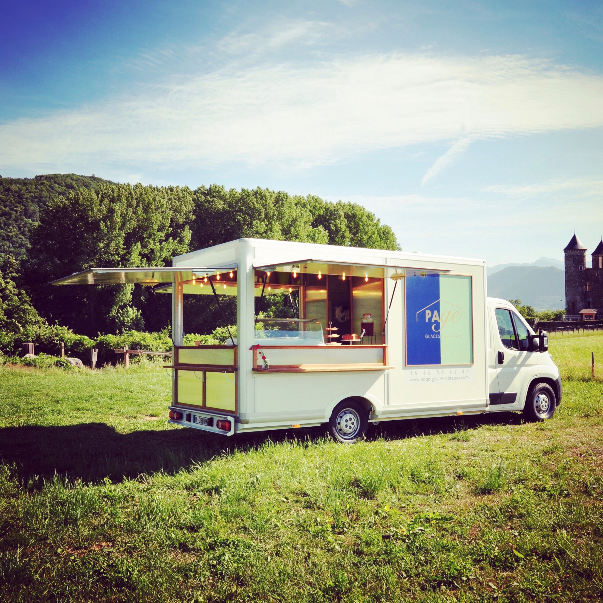 PAGE, Glaces & Gateaux, foodtruck