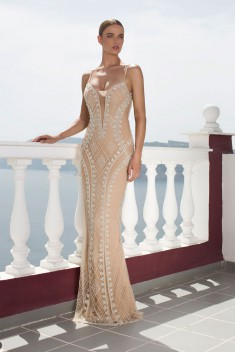 Robe de mariée 1020 par Julie Vino collection Santorini Evening 2016