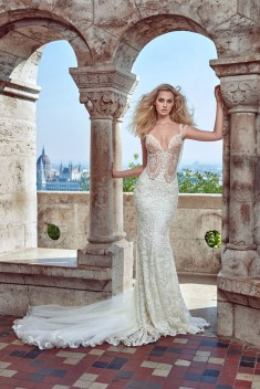 Robe de mariée Delphine par Galia Lahav collection Ivory Tower 2016