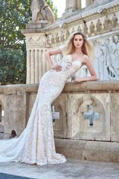Robe de mariée Aurora par Galia Lahav collection Ivory Tower 2016