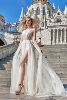 Robe de mariée Flavia par Galia Lahav collection Ivory Tower 2016