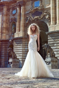 Robe de mariée Adeline par Galia Lahav collection Ivory Tower 2016