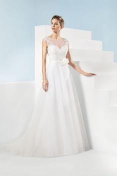 Robe de mariée 185-01 par Just For You collection 2018