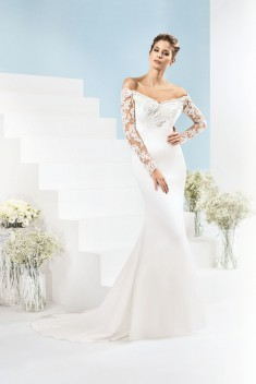 Robe de mariée 185-05 par Just For You collection 2018