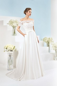 Robe de mariée 185-09 par Just For You collection 2018