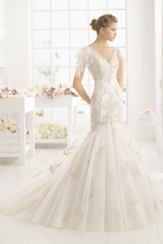 Robe de mariée Moises par Aire Barcelona collection 2016