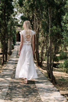 Robe de mariée Look 3 par Marta Marti collection MED 2018