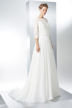 Robe de mariée Amaral par Raimon Bundo collection 2017