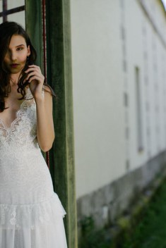 Robe de mariée Lilly of the Valley par Salomé Gautard collection 2017