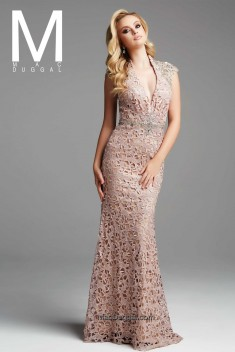 Robe de mariée 78955D par Mac Duggal collection Couture 2016