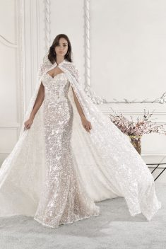 Robe Look 75 par Demetrios collection 2019