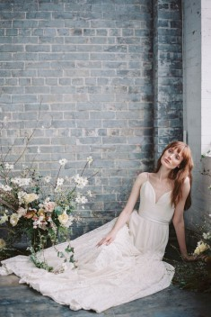 Robe de mariée Abbott par Truvelle collection 2017