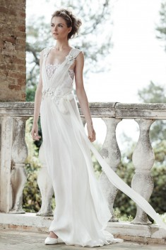 Robe de mariée Aurora  par Alberta Ferretti Forever collection 2016