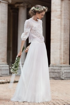 Robe de mariée Nemesi  par Alberta Ferretti Forever collection 2016