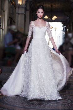 Robe de mariée Julia  par Ana Quasoar collection 2016