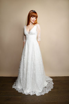 Robe de mariée Camille  par Atelier d'Organse  collection 2015