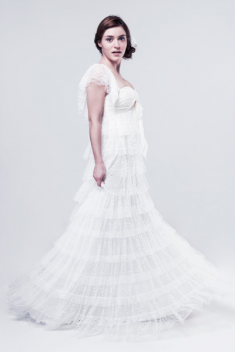 Robe de mariée Inès  par Atelier d'Organse  collection 2015