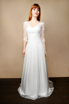 Robe de mariée Pauline  par Atelier d'Organse  collection 2015