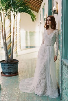 Robe de mariée Morning Glory par Sareh Nouri collection Bridal Spring 2017