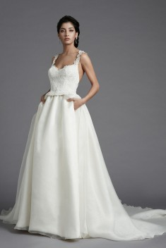 Robe de mariée Molene par Christophe Alexandre Docquin collection 2016