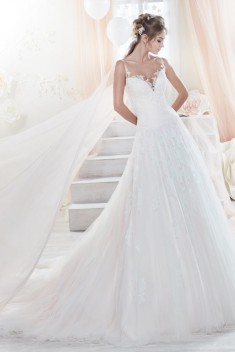 Robe de mariée Look 94 par Nicole Spose collection Colet 2018