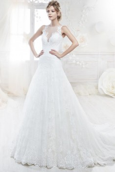 Robe de mariée Look 95 par Nicole Spose collection Colet 2018