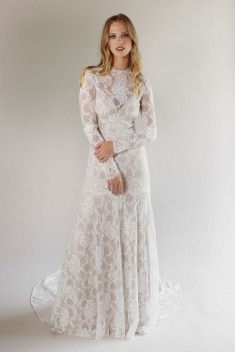 Robe de mariée Beverly Gown par Claire Pettibone collection 2017
