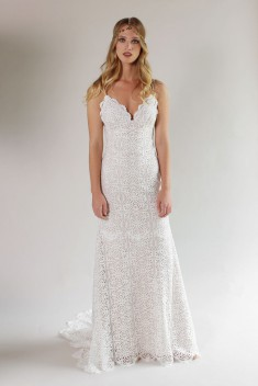 Robe de mariée Malibu Gown par Claire Pettibone collection 2017