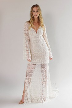 Robe de mariée Coachella Gown par Claire Pettibone collection 2017