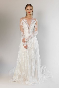 Robe de mariée Pasadena Gown par Claire Pettibone collection 2017