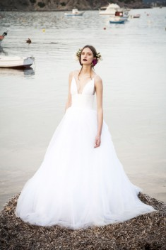 Robe de mariée BR17 50 par Costarellos collection 2017