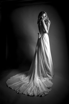 Robe de mariée Aragon par David Purves collection Avedon 2017
