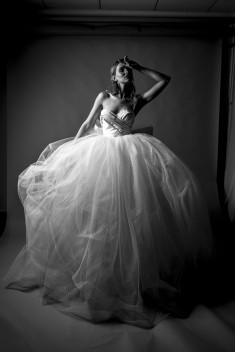 Robe de mariée Plumentis par David Purves collection Avedon 2017