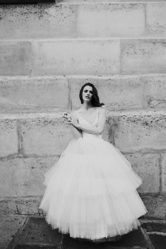 Robe de mariée Gina par David Purves collection Family 2018