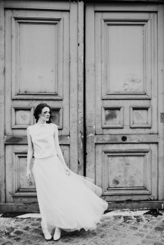 Robe de mariée Tommy par David Purves collection Family 2018