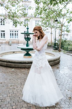 Robe de mariée Willy par David Purves collection Family 2018