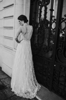 Robe de mariée Gillian par David Purves collection Family 2018