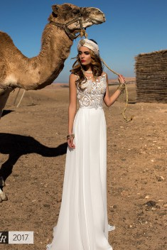 Robe de mariée Dilara par Lorenzo Rossi collection Desert Mistress 2017
