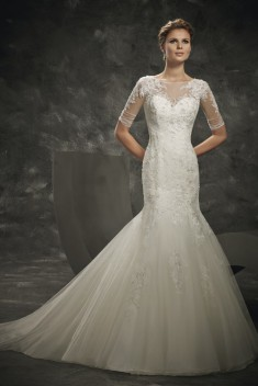 Robe de mariée DS 162 / 3 par Divina Sposa collection 2016