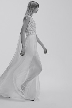 Robe de mariée Look 3 par Elie Saab collection 2017