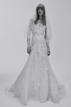 Robe de mariée Look 21 par Elie Saab collection 2017