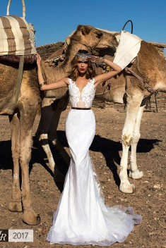 Robe de mariée Favyan par Lorenzo Rossi collection Desert Mistress 2017
