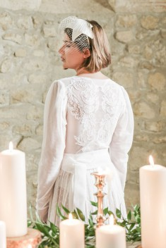 Robe de mariée Francesca par Atelier Manon Pascual collection 2018